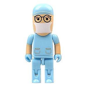Pendrive 16GB - Médico Cirurgião Azul