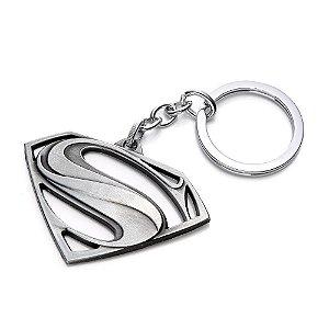 Chaveiro Super Homem Prata