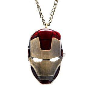 Relógio de Bolso - Homem de Ferro