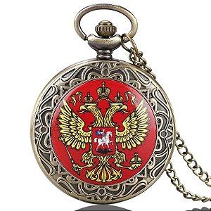 Relógio de Bolso - Águia Imperial Russa