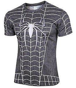 Camisa Homem Aranha Black (G)