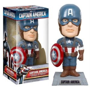 Funko Wacky Wobbler - Capitão América