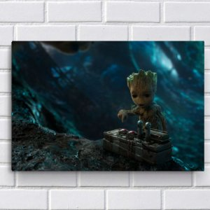 Placa Decorativa - Baby Groot