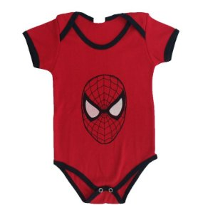 Body Bebê - Homem Aranha