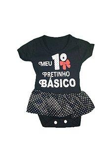 Body Bebê - Meu 1º Pretinho Básico