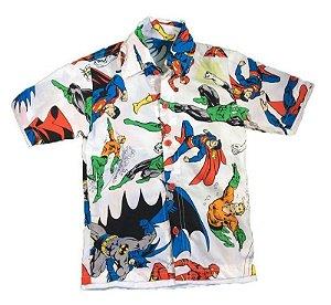 Camisa Super Heróis - 2 Anos