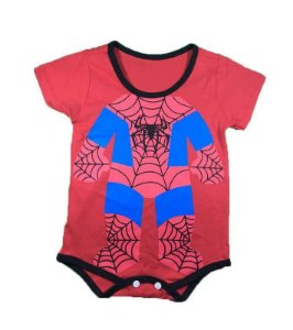 Body Bebê - Homem Aranha II