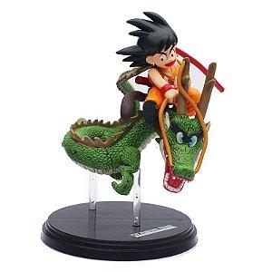Boneco Goku e Shenlong - Dragon Ball Z
