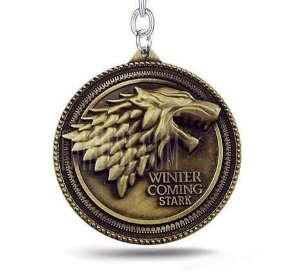 Chaveiro Game of Thrones Bronze