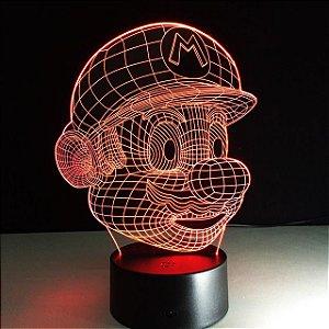 Luminária - Super Mário Bros