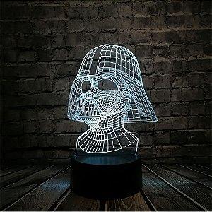 Luminária - Darth Vader