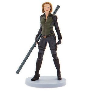 Miniatura Black Widow Marvel - Oficial Disney