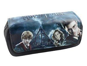 Carteira Harry Potter - Harry Potter, Hermione e Ron