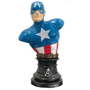 Busto Capitão América - Avengers