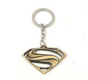Chaveiro Super Homem Bronze