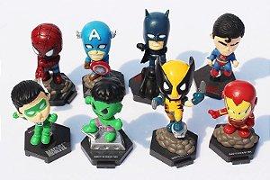 Coleção Miniaturas Super Heróis (Unidade)