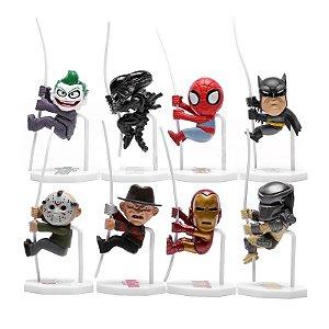 Miniaturas Heróis e Vilões (Unidade)
