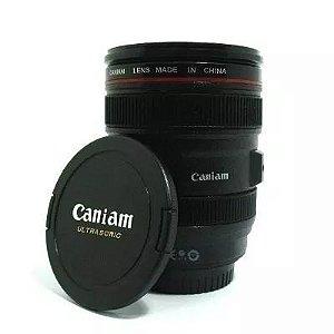 Copo Lente de Câmera