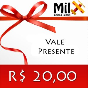 Vale Presente - R$ 20,00