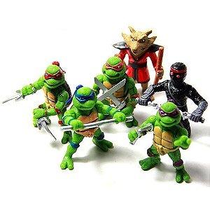 Coleção Miniaturas Tartarugas Ninja