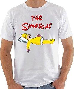 Camisa Homer Dormindo