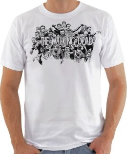 Camisa The Walking Dead - Zombies