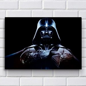 Placa Decorativa - Darth Vader