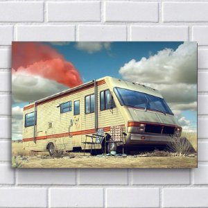Placa Decorativa Breaking Bad