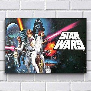 Placa Decorativa Star Wars