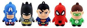 Pendrive Super Heróis