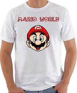 Camisa Mario World
