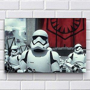 Placa Decorativa Star Wars - Stormtrooper