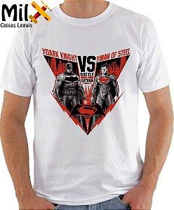 Camisa Batman VS Super Homem