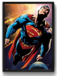 Quadro Super Homem