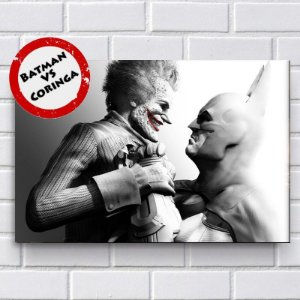 Adesivo - Batman VS Coringa