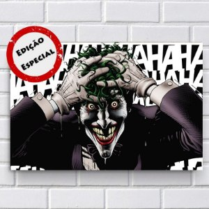 Placa Decorativa - Coringa (Joker)