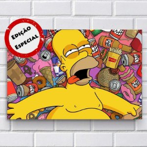 Placa Decorativa - Homer Simpson