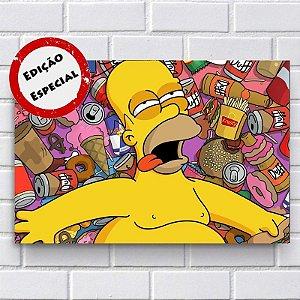 Placa Decorativa - Homer Simpson