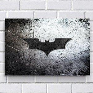 Placa Decorativa - Morcego Batman