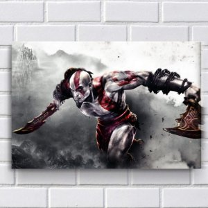 Placa Decorativa - God of War