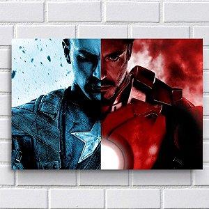 Placa Decorativa - Civil War