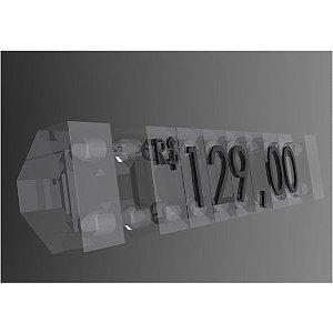 Kit Precificador 255 Peças (Transparente)