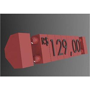 Kit Precificador 255 Peças (Vermelho)
