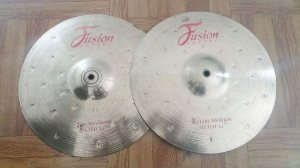 Prato 14 Chimbal Hit Hat Krest Fusion Series Antigo B8 Top