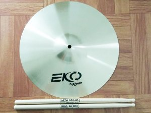 Prato 14 Medium Crash De Bateria Eko By Krest