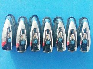 Canoa Tom Surdo De Bateria Grovin Pro (kit Com 4)