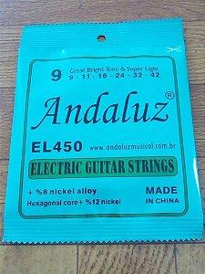 Encordoamento De Guitarra Andaluz 0.09 El450