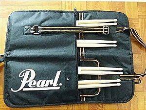 Bag De Baquetas Pearl + 2× Par Pearl De Baquetas 7a