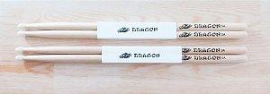 Baqueta Para Bateria Gragon C.ibanez 5a Com Ponta De Nylon