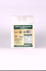 Farinha de Arroz Orgânico Branca Solst 500g